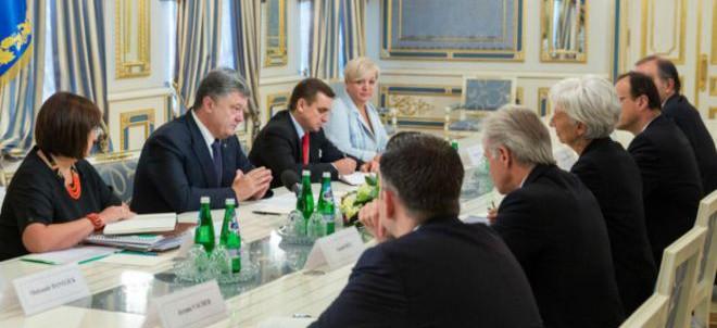 Poroshenko had IMF