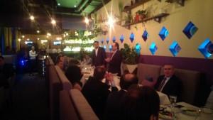 Traditional Ramadan dinner from TUSİB