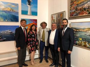 "10/08/2018_ The grand opening of an art exhibition ""Barvi Svitu"" dedicated to Turkey"