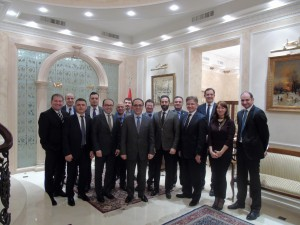 04.02.2016 Meeting in Turkish Ambassador's Residence